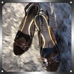 Lauren Sling Back Heel, size 9.5